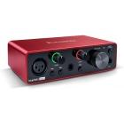 FOCUSRITE Scarlett Solo 3rd Gen Compact  Scarlett Audio interface